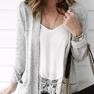 XS Old Navy Thin Gray Cardigan